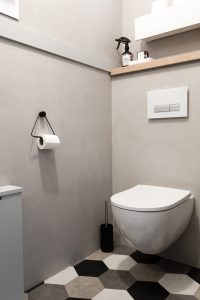 Beton ciré expert toilet